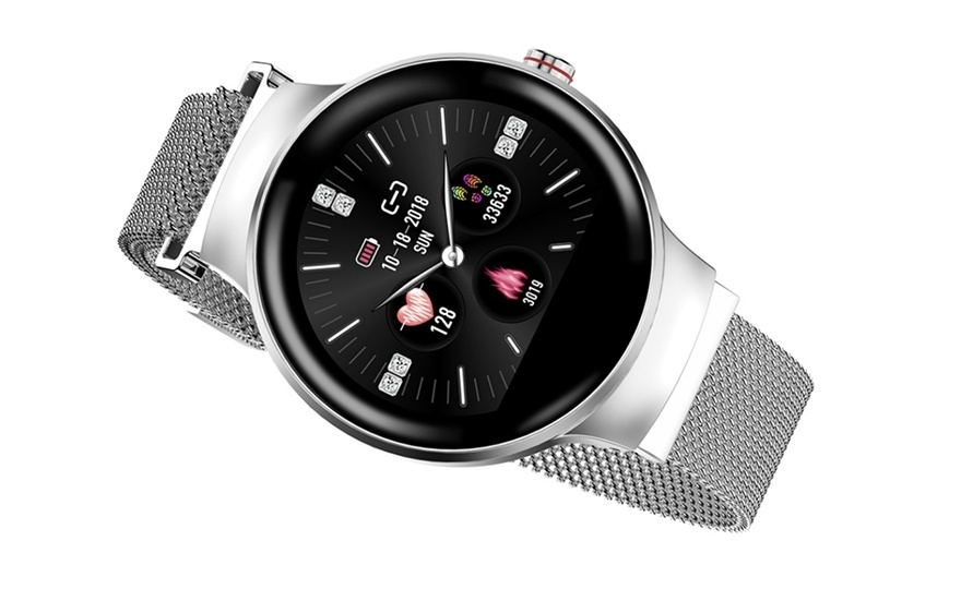 CARCAM SMART WATCH MH5 - SILVER