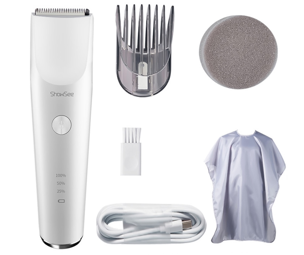 Xiaomi Showsee Electric Hair Clipper C2 White
