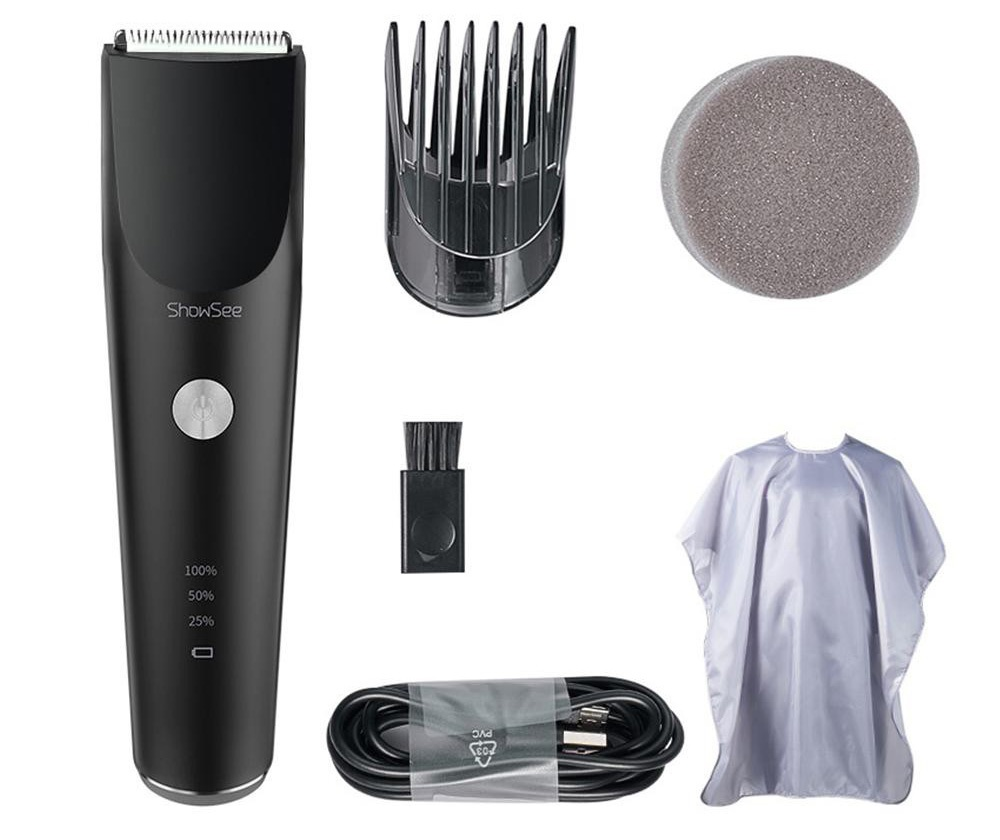 Xiaomi ShowSee Electric Hair Clipper C2 Black