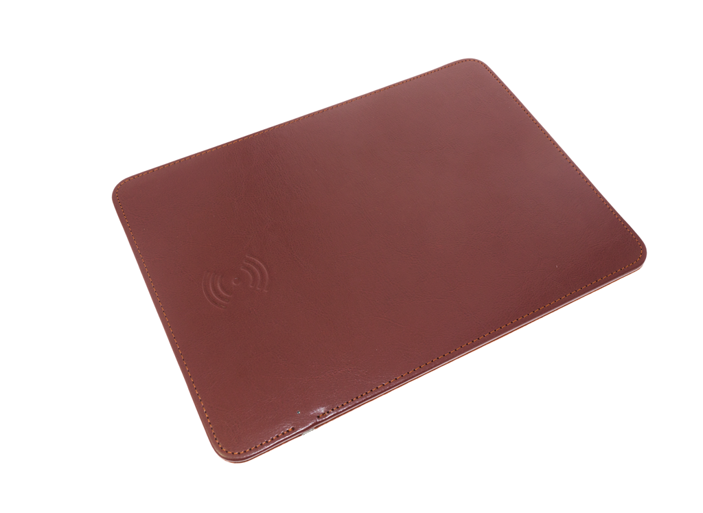 Wireless Charging Mouse PAD RS-10 коричневый