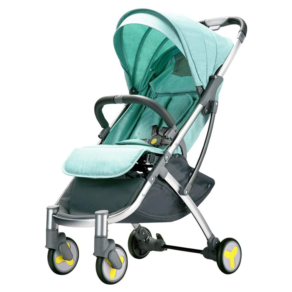 Xiaomi BEBEHOO START Lightweight Four-wheeled Stroller - Green