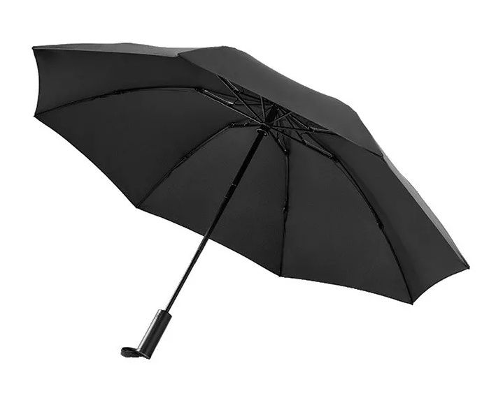 Xiaomi 90 Points Automatic Umbrella With LED Flashlight Black