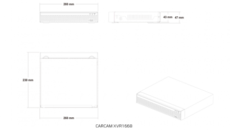 CARCAM VIDEO KIT 2M-5